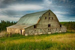 Neglected barn