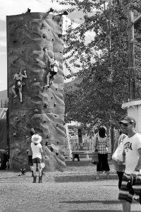 Children's wall climb