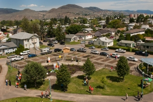 Kamloops neighborhood garden