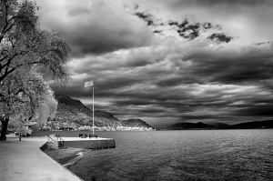 peachland storm clouds