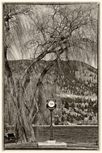 Peachland town clock