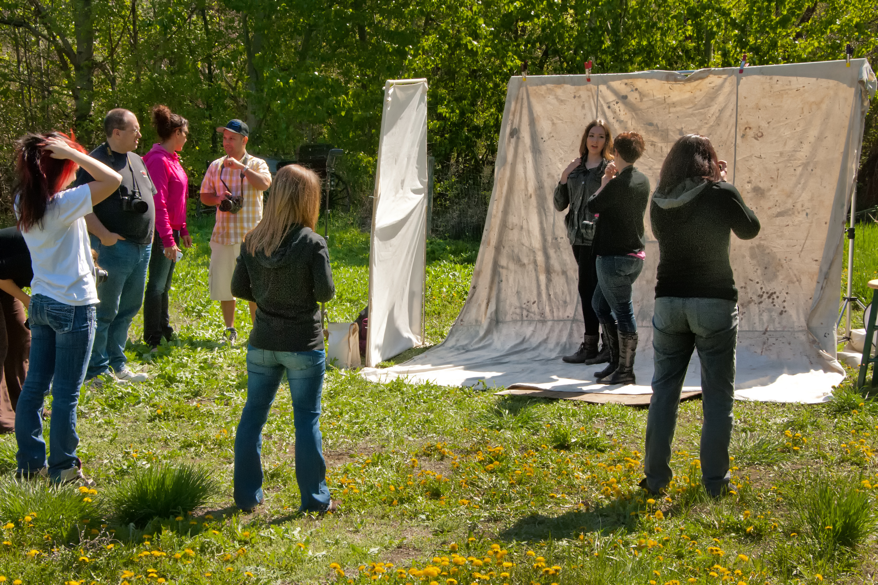 One more outdoor lighting workshop enmanscameras blog kamloops a an outdoor studio workwithnaturefo