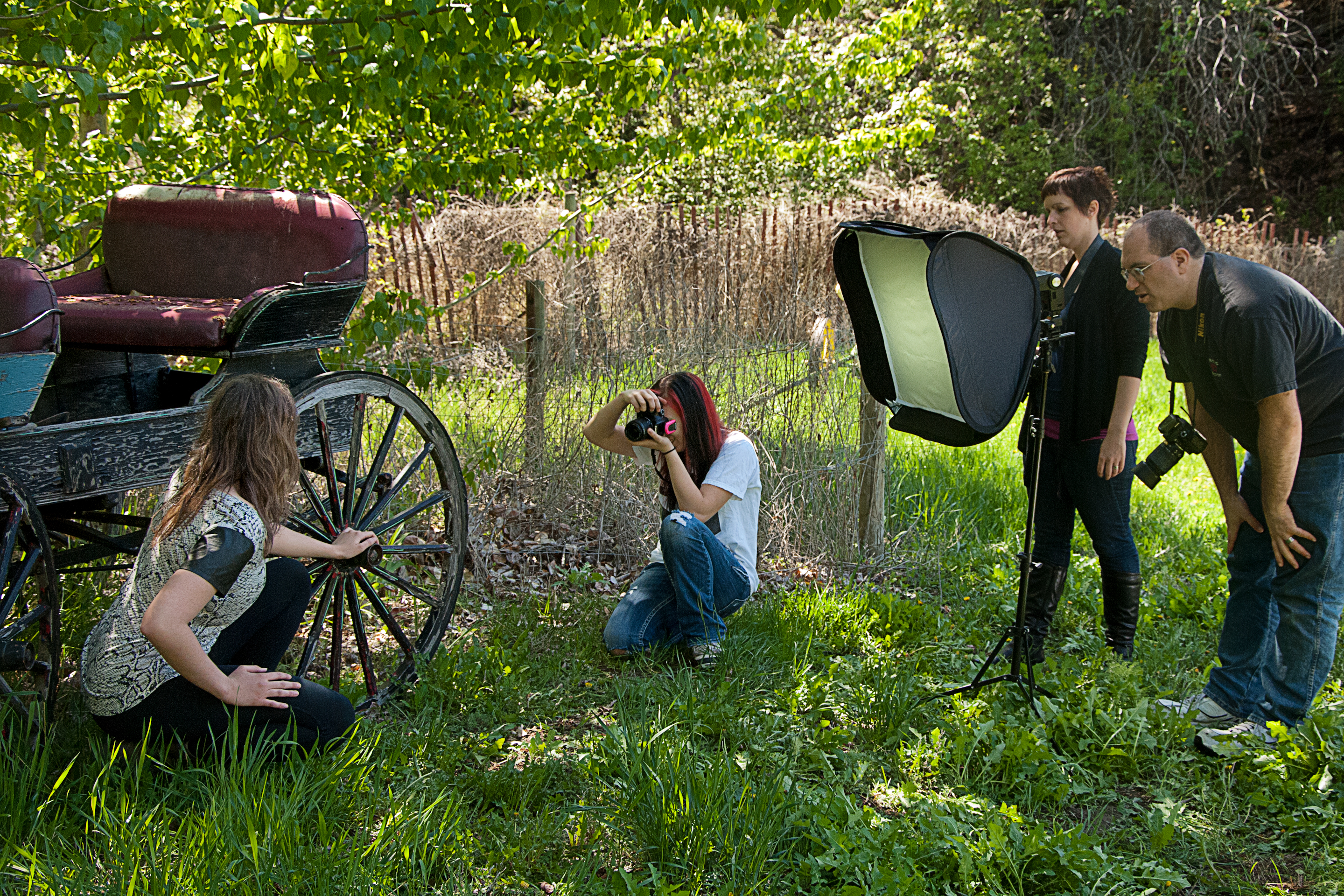 One more outdoor lighting workshop enmanscameras blog kamloops outdoor shooting e softbox by the buggy workwithnaturefo