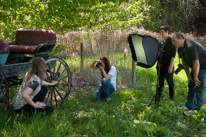 E. Softbox by the buggy
