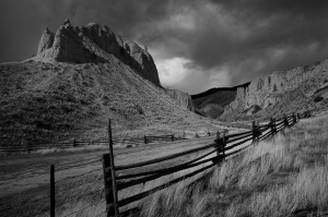 3. Kamloops fence & hills