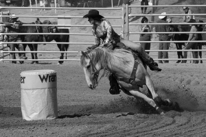 4. Quick turn at the rodeo