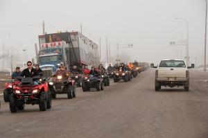 The procession 1