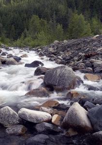River Sandon BC
