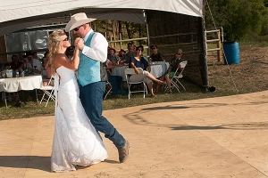 Country dancing