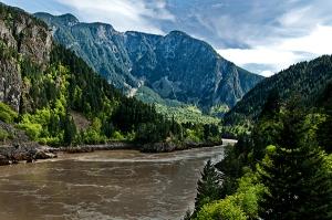 Fraser River view
