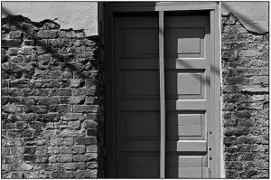 Brick doorway 1